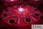 Table Setting at the January 28, 2010 Internet Dating Industry Awards in Miami