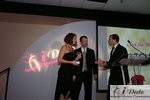 Match.com receiving Best Dating Site Award in Miami at the January 28, 2010 Internet Dating Industry Awards