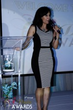 Comedienne Amy Tinoco at the 2012 iDate Awards Ceremony