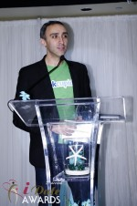 Sam Yagan - OKCupid - Winner of Most Innovativee Company 2012 at the 2012 iDateAwards Ceremony in Miami held in Miami Beach