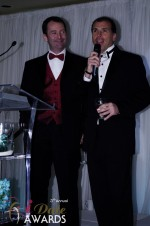 Mark Brooks and Marc Lesnick at the 2012 Internet Dating Industry Awards in Miami