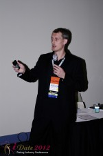Dmitry Gritsenko - CEOMaster of Code at iDate2012 Miami