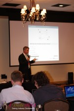 Dr. Eike Post - CEOIQ Elite / Intelligent Elite at the January 23-30, 2012 Miami Internet Dating Super Conference