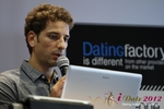 David Khalil (Co-Founder of eDarling) at the 2012 Köln E.U. Mobile and Internet Dating Summit and Convention