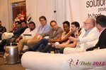 Jonathan Crutchley (Chairman of Manhunt) at the Final Panel at iDate2012 Beverly Hills
