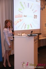 Amanda Mills (Director of Product at AOL Mobile) at the 2012 Beverly Hills Mobile Dating Summit and Convention