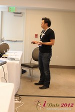 Andy Kim (CEO of Mingle)  at iDate2012 California