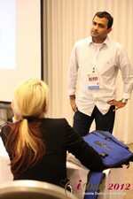 Dwipal Desai (CEO of TheIceBreak.com) covers monetization during a relationship at the 2012 Beverly Hills Mobile Dating Summit and Convention