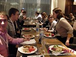 Lunch at the Russia iDate Mobile Dating Business Executive Convention and Trade Show