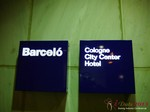 The Barcelo Hotel at the 35th iDate2013 Cologne convention