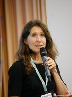 Tanya Fathers (CEO of Dating Factory) at the September 16-17, 2013 Mobile and Online Dating Industry Conference in Köln