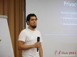 Miguel Espinoza (Developer @ PHPFox) at iDate2013 Cologne