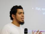 Miguel Espinoza (Developer @ PHPFox) at the 35th iDate2013 Köln convention