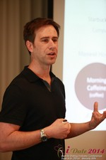 Author Neal Cabage Of The Smarter Startup at the 38th Mobile Dating Business Conference in Beverly Hills