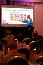 Axel Vezina, Chief Analytics Officer For Crak Media On Best Strategies For Mobile Dating Conversions  at the 2014 Beverly Hills Mobile Dating Summit and Convention