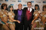 Marc Lesnick & Mark Brooks (iDate Awards Thanks You!) at the 2014 Internet Dating Industry Awards Ceremony in Las Vegas