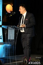 Maciej Koper of World Dating Company (Winner of Best New Technology) at the 2014 iDate Awards Ceremony