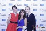 Leila Benton-Jones, Renee Piane and Rachel MacLynn in Las Vegas at the 2015 Online Dating Industry Awards