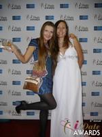 Svetlana Mucha and Elena Kolyasnikova at the 2015 Internet Dating Industry Awards Ceremony in Las Vegas