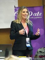Author Laurel House - Speaking on Womens Empowerment and Online Dating at the 40th International Dating Industry Convention