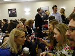 Speed Networking Among CEOs General Managers And Owners Of Dating Sites Apps And Matchmaking Businesses  at the Euro and U.K. iDate conference and expo for matchmakers and online dating professionals in 2015