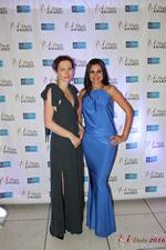 Media Wall Lena Bay and Natalia Jorgenson at the 2016 iDateAwards Ceremony in Miami held in Miami