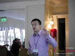 Shang Hsui Koo(CFO, Jiayuan)  at the 38th Mobile Dating Negócio Conference in Beverly Hills