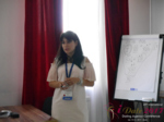 Elena Vygnanyuk at the 2017 P.I.D. Business Conference in Belarus